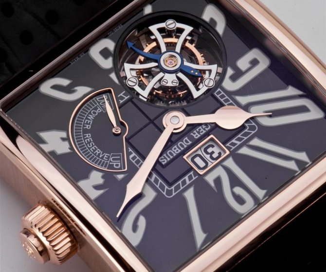 Roger Dubuis G40 03 5 GN9.61 Historical Collection Golden Square Tourbillon - фото 4