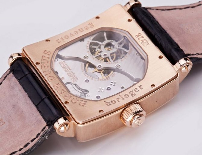 Roger Dubuis G40 03 5 GN9.61 Historical Collection Golden Square Tourbillon - фото 5