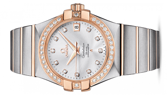 Omega 123.25.35.20.52-001 Constellation Ladies Co-axial - фото 2