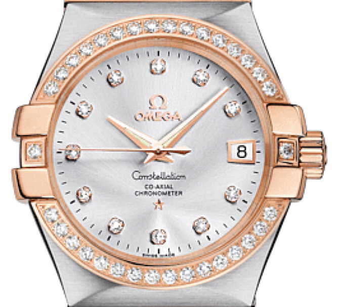 Omega 123.25.35.20.52-001 Constellation Ladies Co-axial - фото 3