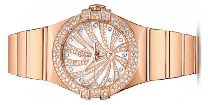 Omega 123.55.31.20.55-010 Constellation Ladies Co-axial - фото 2