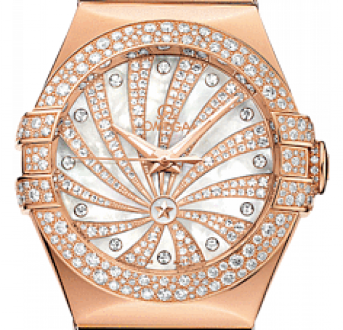 Omega 123.55.31.20.55-010 Constellation Ladies Co-axial - фото 3