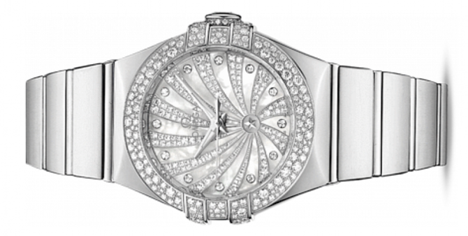 Omega 123.55.31.20.55-011 Constellation Ladies Co-axial - фото 2