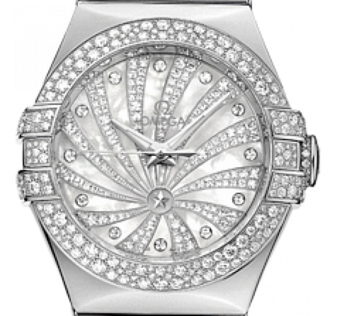 Omega 123.55.31.20.55-011 Constellation Ladies Co-axial - фото 3