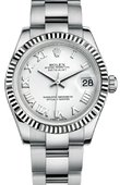 Rolex Datejust 178274 wro Datejust 31mm Steel and White Gold