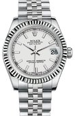 Rolex Datejust 178274 wsj Datejust 31mm Steel and White Gold
