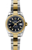 Rolex Datejust Ladies 179173 bkso 26mm Steel and Yellow Gold