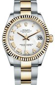 Rolex Datejust 178273 wro 31mm Steel and Yellow Gold