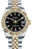 Rolex Datejust 178313 bkij 31mm Steel and Yellow Gold