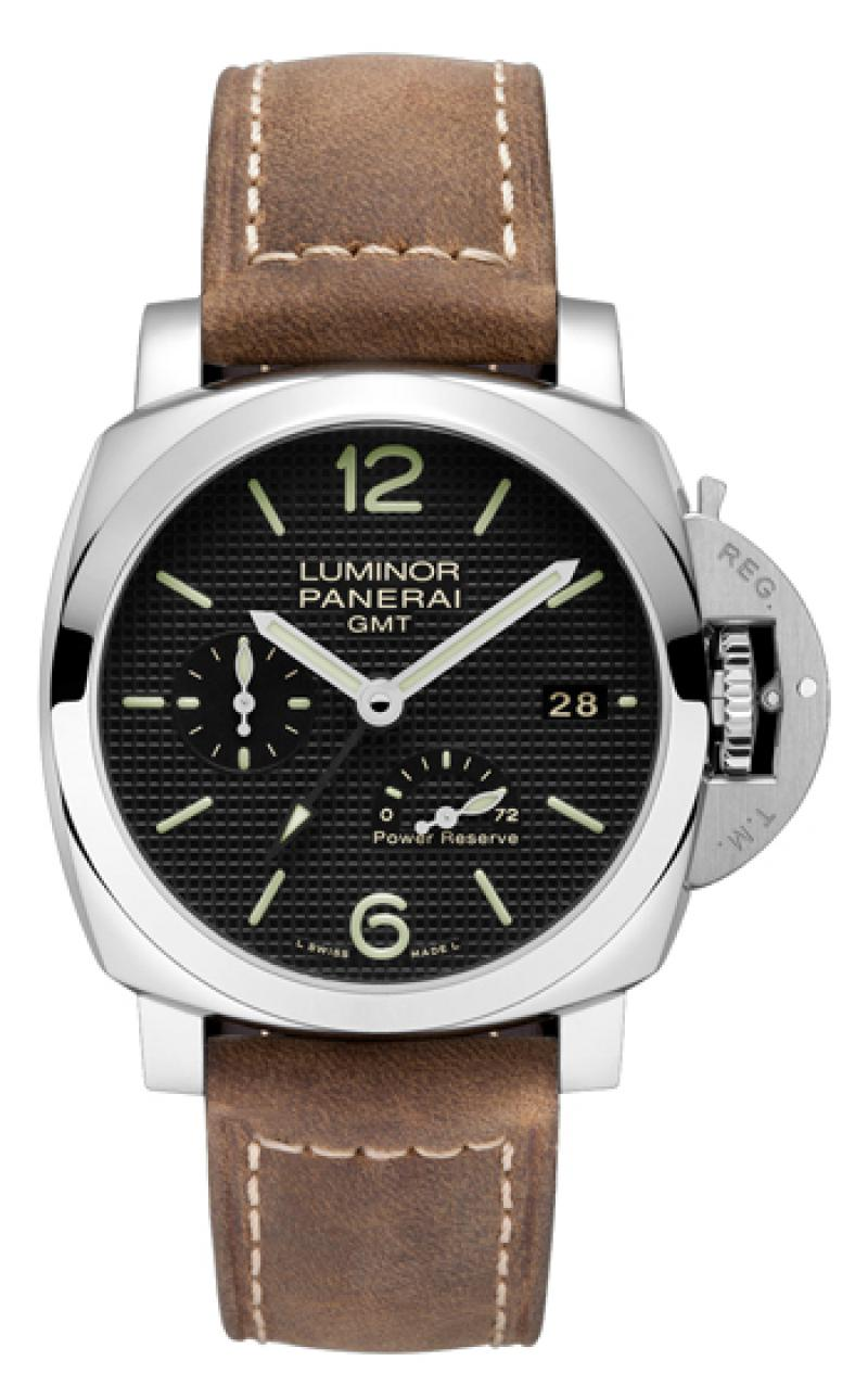 PAM00537 Officine Panerai 1950 3 Days GMT Power Reserve Automatic Acciaio  Luminor