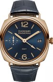 Officine Panerai Special Editions PAM00598 Radiomir 3 Days GMT Oro Rosso