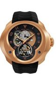 Franc Vila Часы Franc Vila Montre Contemporaine Grande Complication FVa №2 GMT Red Gold Tourbillon Planetaire 5 Days Power Reserve
