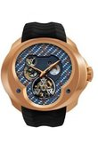 Franc Vila Часы Franc Vila Montre Contemporaine Grande Complication FVa №1 Blue Dial Tourbillon Planetaire Red Gold