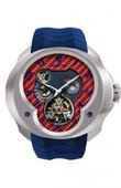Franc Vila Часы Franc Vila Montre Contemporaine Grande Complication FVa №1 Blue Strap Tourbillon Planetaire White Gold