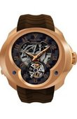 Franc Vila Часы Franc Vila Montre Contemporaine Grande Complication FVa №3 Brown Tourbillon Repetition Minute Red Gold