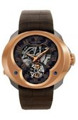 Franc Vila Часы Franc Vila Montre Contemporaine Grande Complication FVa №3 Red Gold & Titanium Tourbillon Repetition Minute