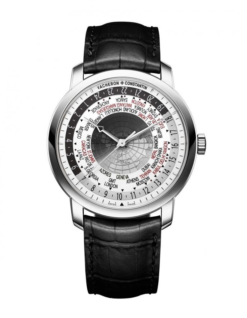 86060/000G-8982 Vacheron Constantin World Time White Gold Traditionnelle