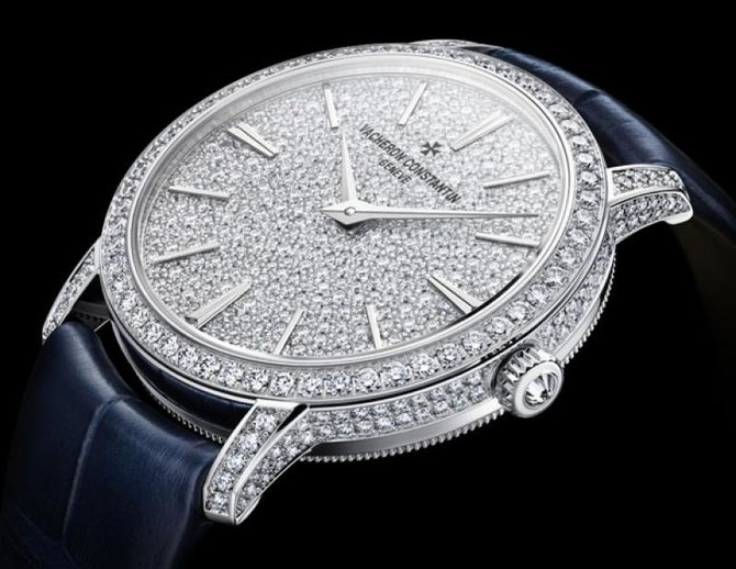 Vacheron Constantin 81591/000G-9913 Traditionnelle Lady Small Model Fully Paved Hand-Wound  - фото 2