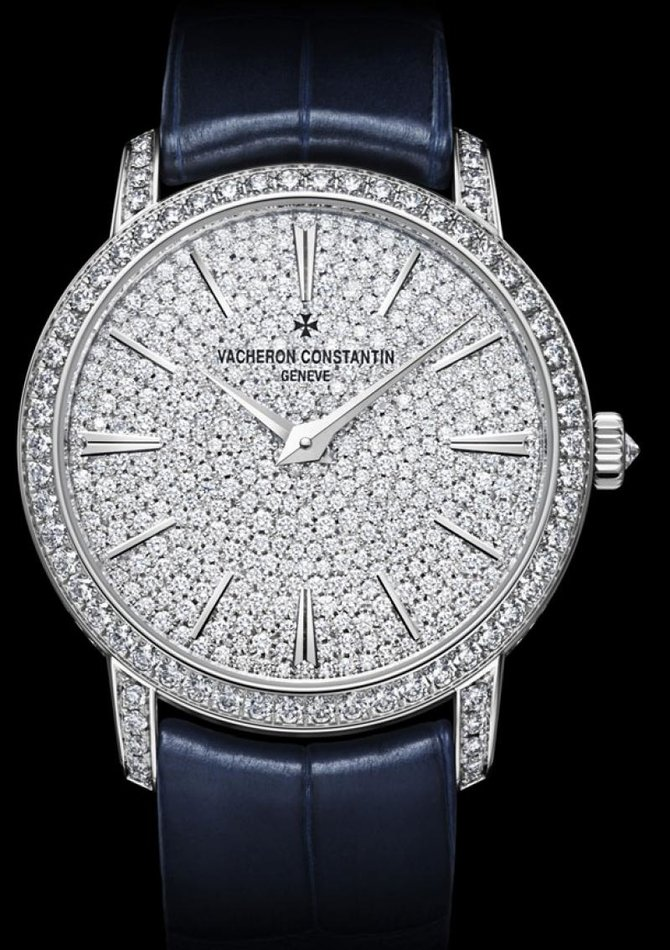 Vacheron Constantin 81591/000G-9913 Traditionnelle Lady Small Model Fully Paved Hand-Wound  - фото 3