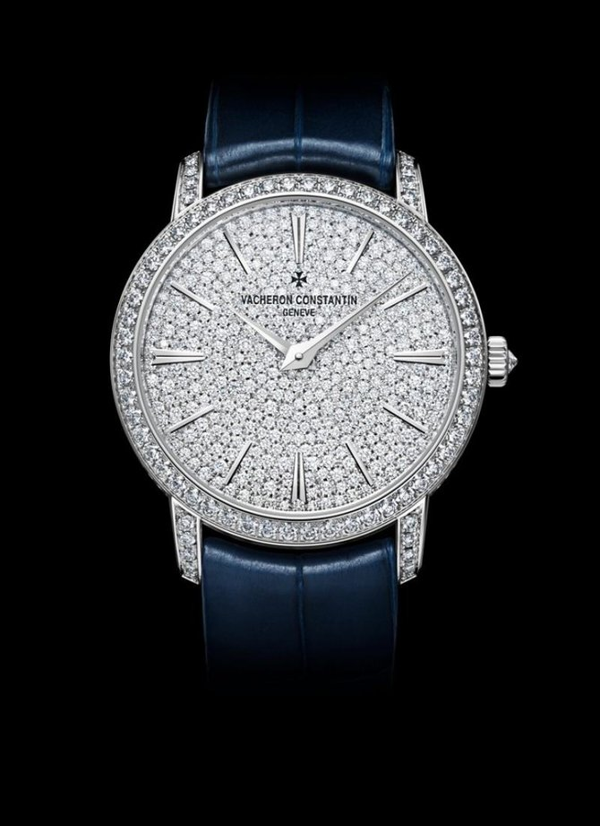 Vacheron Constantin 81591/000G-9913 Traditionnelle Lady Small Model Fully Paved Hand-Wound  - фото 4