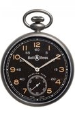 Bell & Ross Часы Bell & Ross Vintage PW1 Heritage Brown Dial Pocket Watch