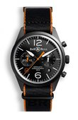 Bell & Ross Часы Bell & Ross Vintage BR 126 Carbon Orange Chronograph
