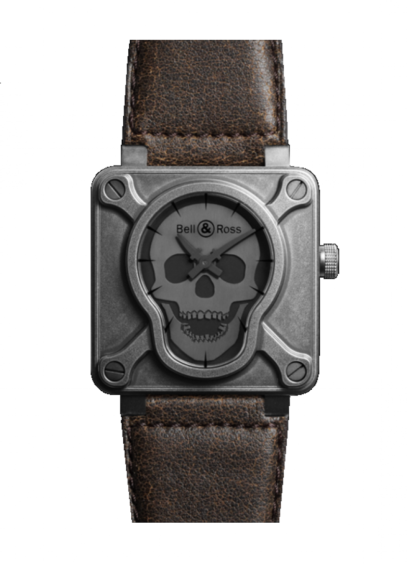 Bell Ross BR0192-BURNSK-BR - watches-mastercom
