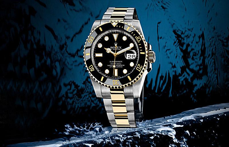 116613LN Rolex Steel and Yellow Gold Ceramic Submariner