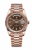Rolex Часы Rolex Day-Date 228235-0006 40 mm Everose Gold