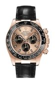 Rolex Daytona 116515LN Pink and Black Index Cosmograph Daytona 40mm Everose Gold