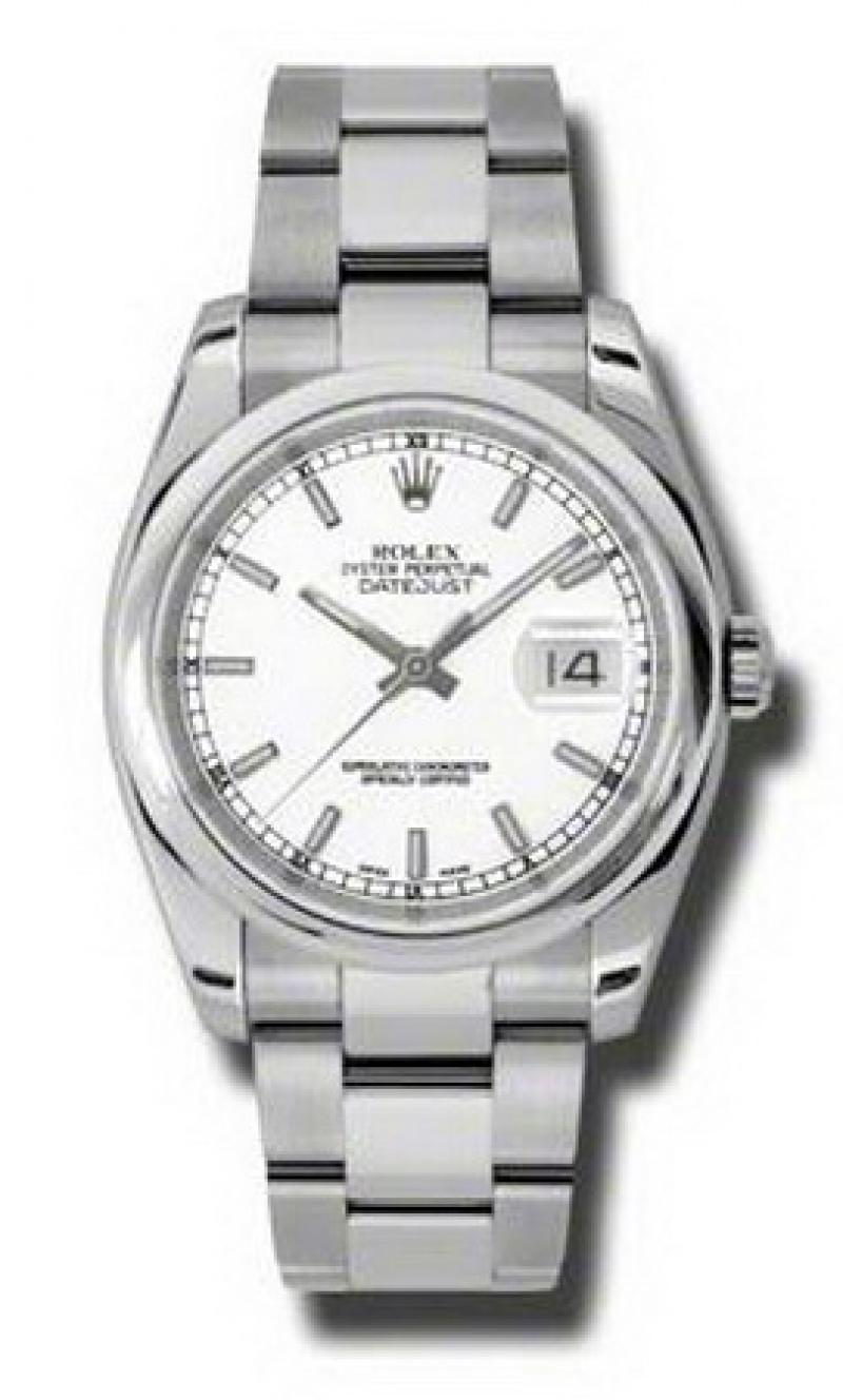 116200 wso Rolex Steel Datejust