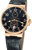 Ulysse Nardin Часы Ulysse Nardin Maxi Marine Chronometer 41mm 266-66/62 Rose Gold
