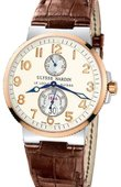 Ulysse Nardin Maxi Marine Chronometer 41mm 265-66/60 Steel Rose Gold