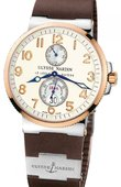 Ulysse Nardin Часы Ulysse Nardin Maxi Marine Chronometer 41mm 265-66-3T/60 Steel Rose Gold