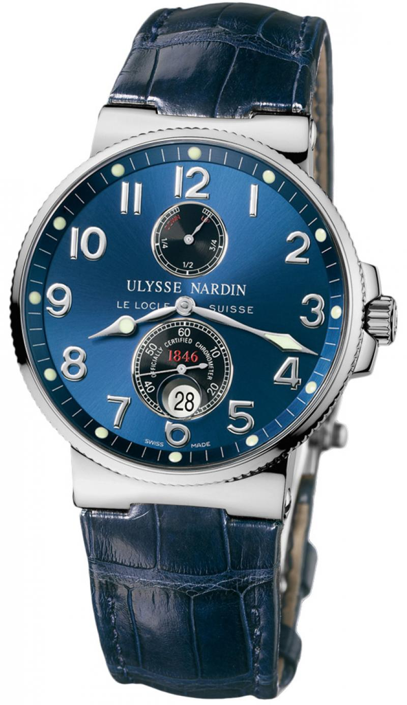 263-66/623 Ulysse Nardin Steel Maxi Marine Chronometer 41mm