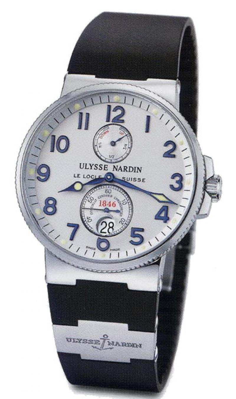 263-66-3 Ulysse Nardin Steel Maxi Marine Chronometer 41mm