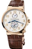 Ulysse Nardin Часы Ulysse Nardin Maxi Marine Chronometer 41mm 266-66 Rose Gold
