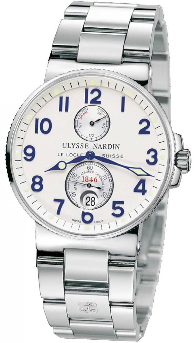 263-66-7 Ulysse Nardin Steel Maxi Marine Chronometer 41mm
