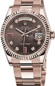 Rolex Day-Date 118205 chodro Everose Gold