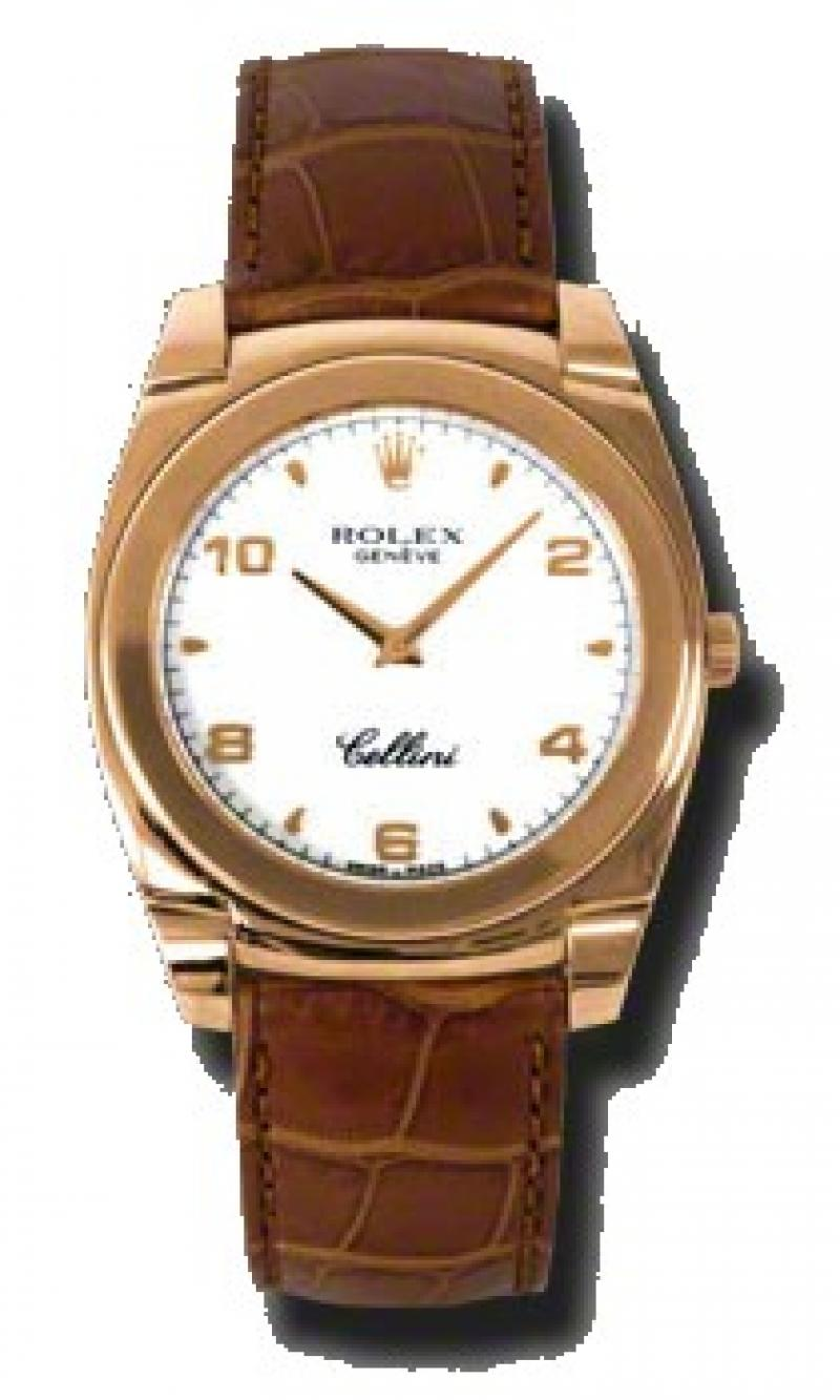 5330.5 wa Rolex Cestello Rose Gold Cellini