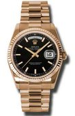 Rolex Day-Date 118235 bksp Everose Gold