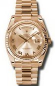 Rolex Day-Date 118235 chrp Everose Gold