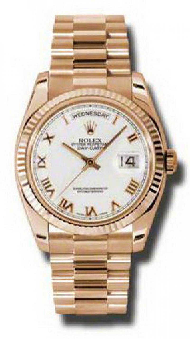 118235 wrp Rolex Everose Gold Day-Date