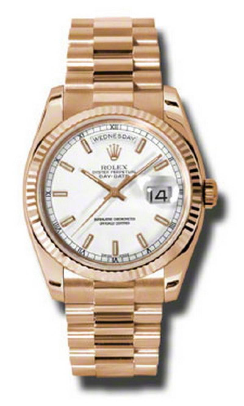 118235 wsp Rolex Everose Gold Day-Date