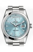 Rolex Day-Date 118206 Ice Blue Platinum