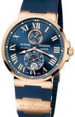 Ulysse Nardin Maxi Marine Chronometer 43mm 266-67-3/43 Rose Gold