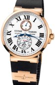 Ulysse Nardin Часы Ulysse Nardin Maxi Marine Chronometer 43mm 266-67-3/40 Rose Gold