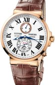 Ulysse Nardin Maxi Marine Chronometer 43mm 266-67/40 Rose Gold