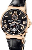 Ulysse Nardin Часы Ulysse Nardin Maxi Marine Chronometer 43mm 266-67/42 Rose Gold