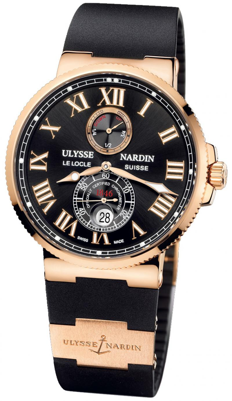 266-67-3/42 Ulysse Nardin Rose Gold Maxi Marine Chronometer 43mm